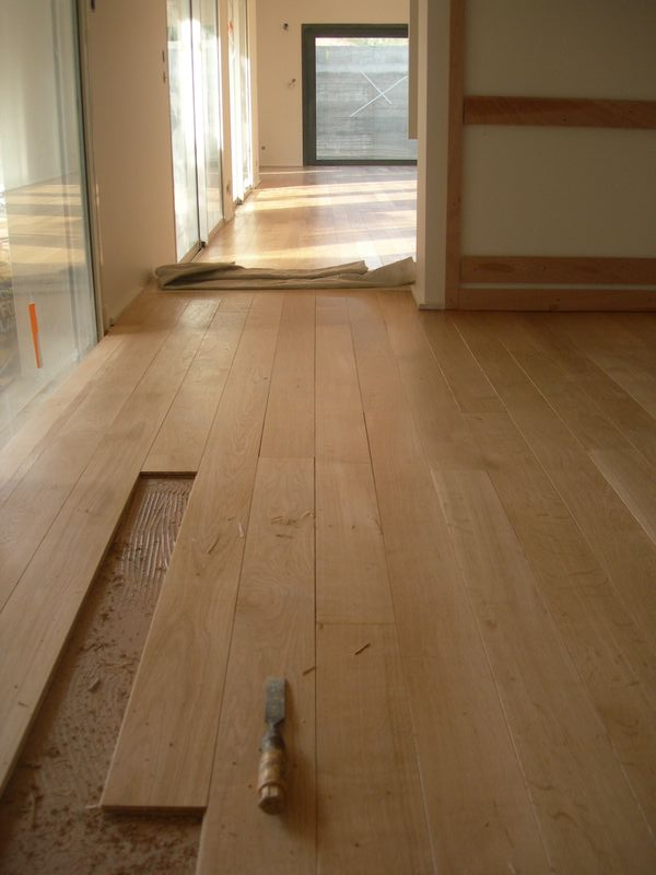 Refaire un parquet photos de conception de maison for Cloison demontable chambre